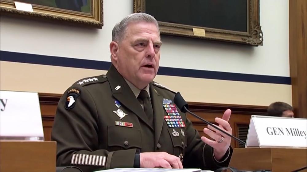 Начальник штабов Вооружённых сил США Марк Милли