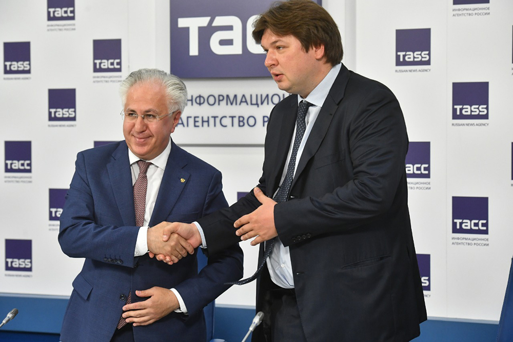 Рашид Исмаилов и Дмитрий Медников