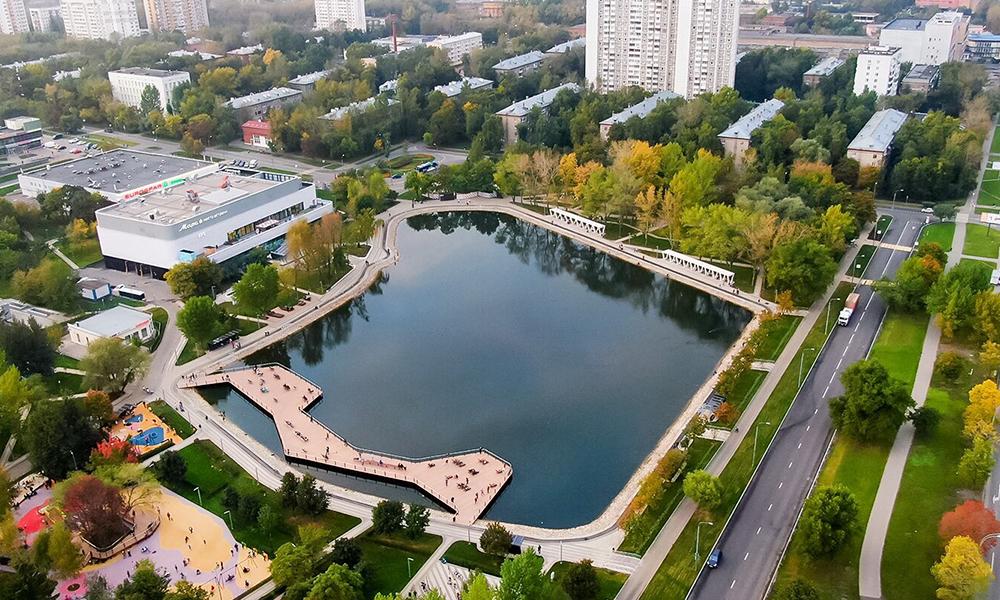 Благоустройство Москвы
