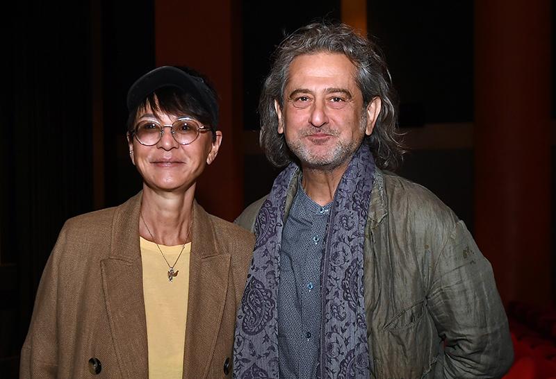 Ирина Хакамада с мужем Владимиром Сиротинским