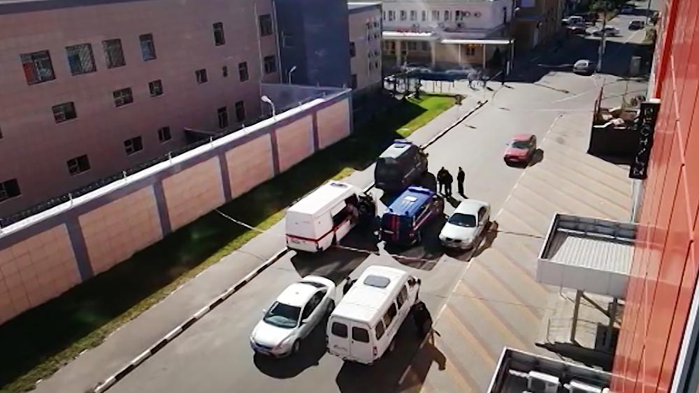 Нападение на ОМВД России по Лискинскому району Воронежской области
