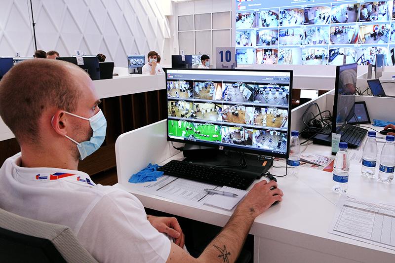 Видеонаблюдение за выборами
