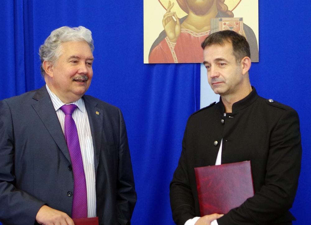 Сергей Бабурин и Дмитрий Певцов