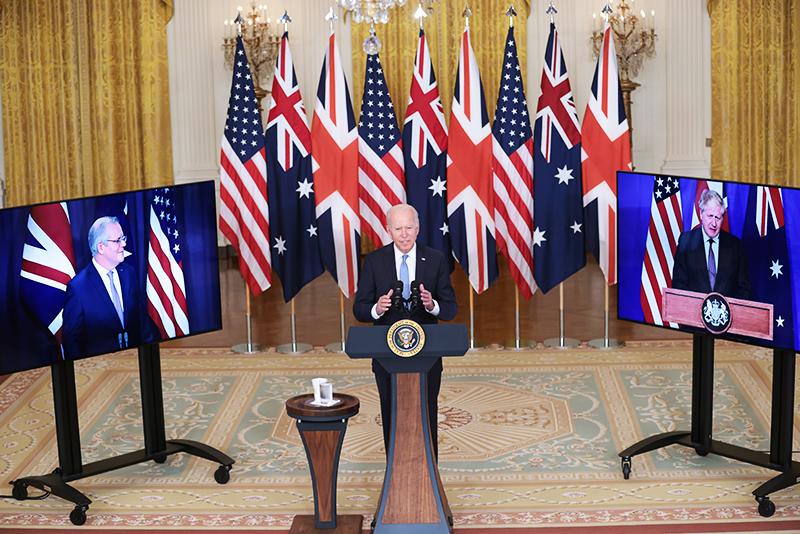 Австралия, Великобритания и США подписывают пакт о безопасности AUKUS