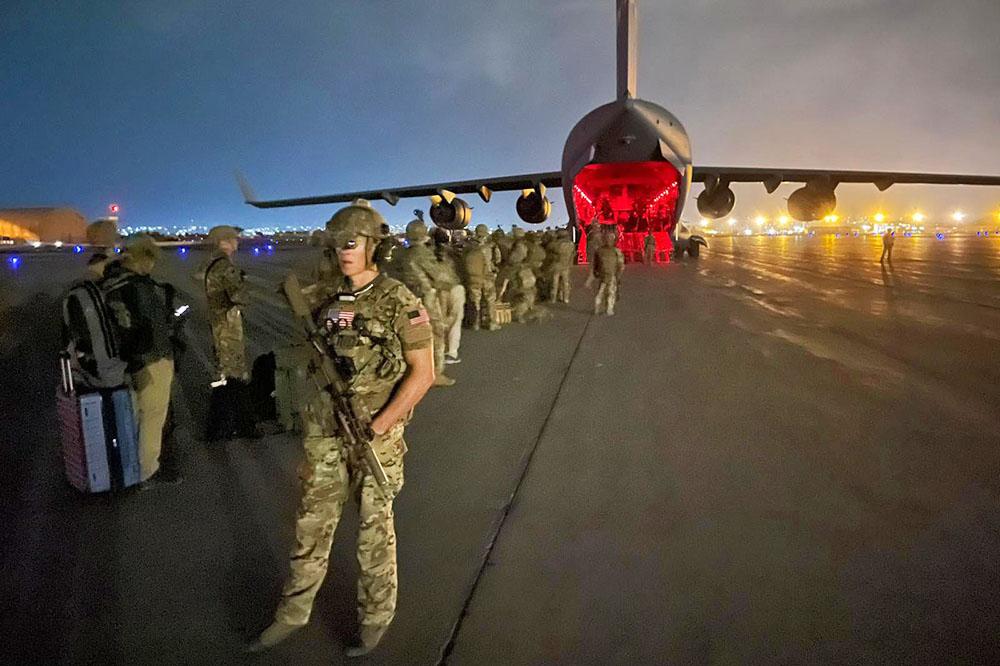 Военнослужащие армии США покидают Афганистан