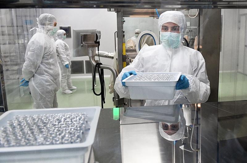 Производство вакцин от COVID-19