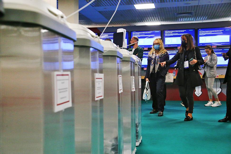 Иностранные и наблюдатели в Общественном штабе по наблюдению за выборами