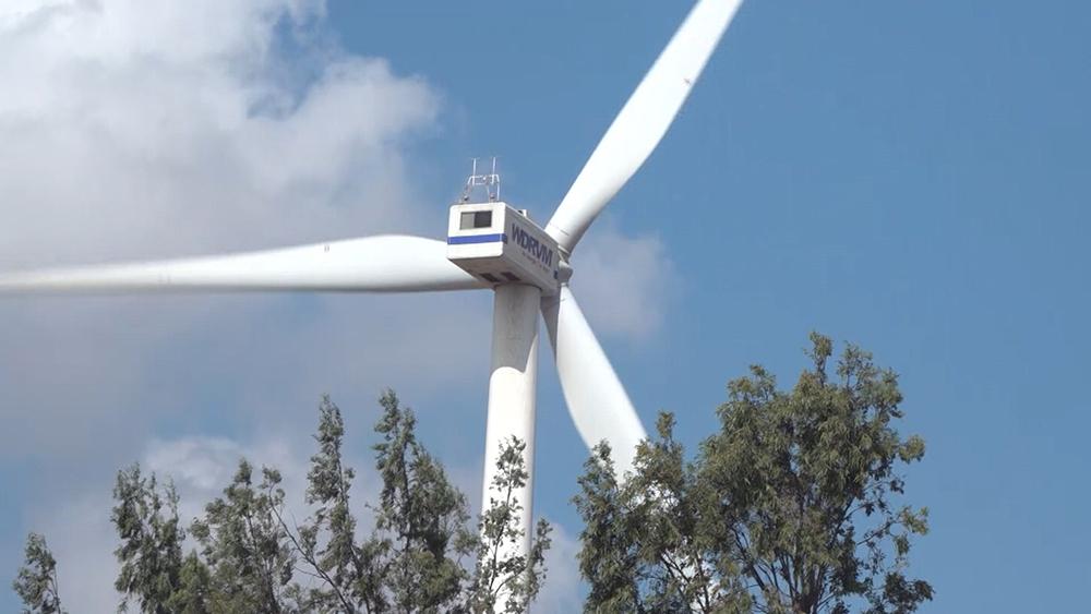 Завод ветрогенераторов в Сирии