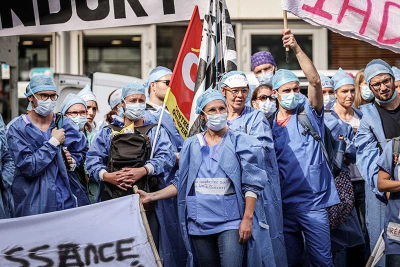 Антиковидные протесты