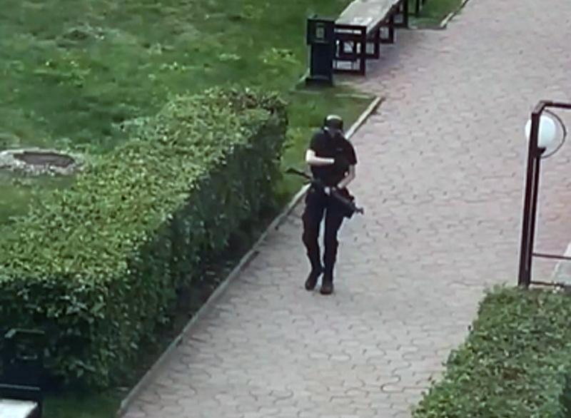 Стрельба в университете в Перми