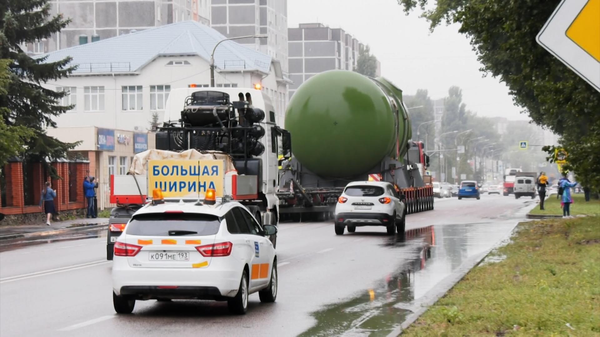 В Курчатов доставили корпус реактора для новой атомной станции