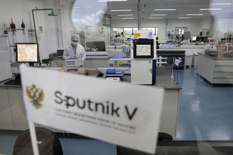 """Производство вакцины от COVID-19 """"Спутник V"""""""