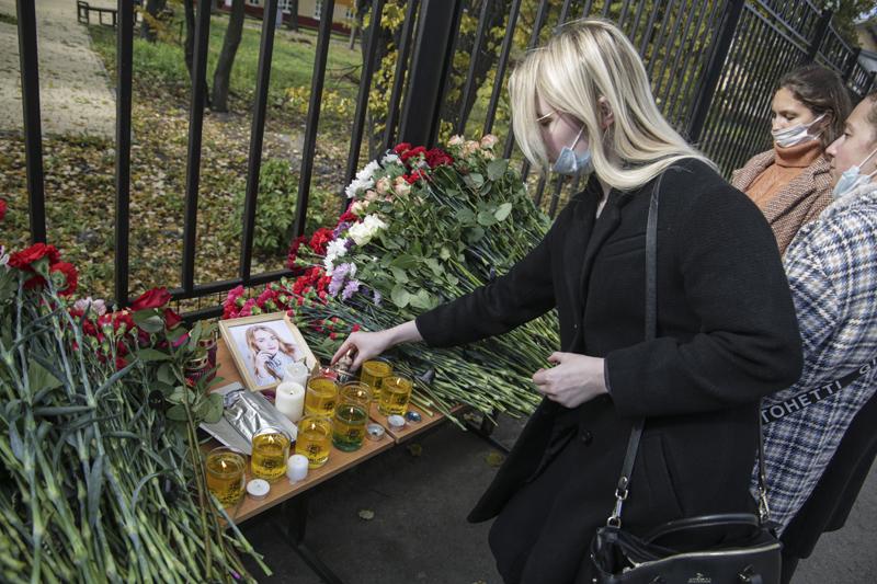 День траура по погибшим во время стрельбы в Пермском государственном университете