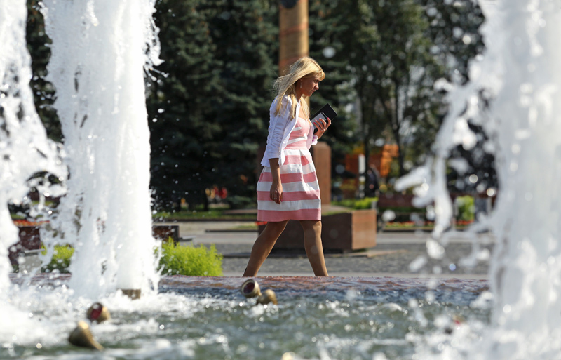 """""""Бабье лето"""" в столице"""