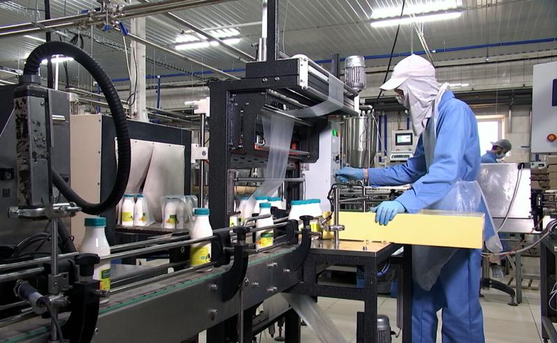 Производственная линия молочного завода