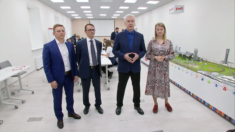 Сергей Собянин посетил детский транспортный технопарк