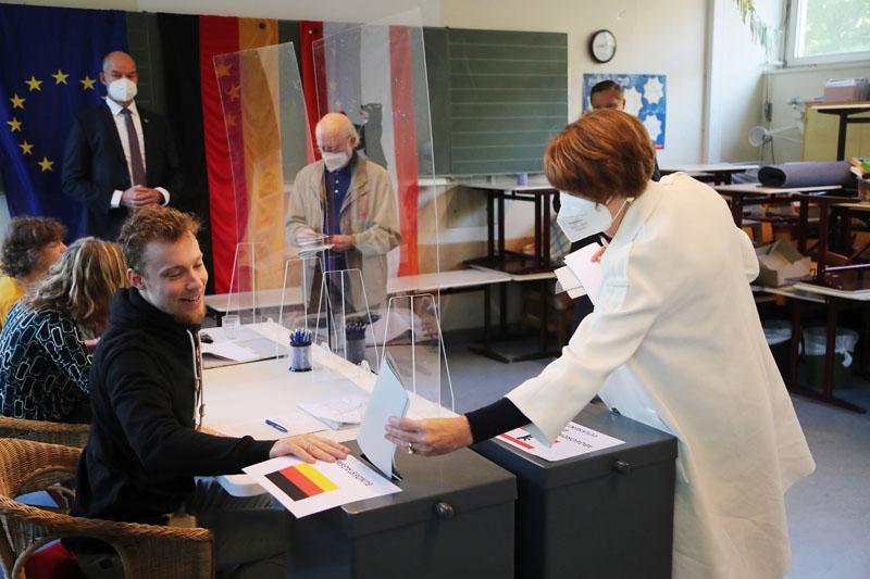 Выборы в бундестаг в Германии
