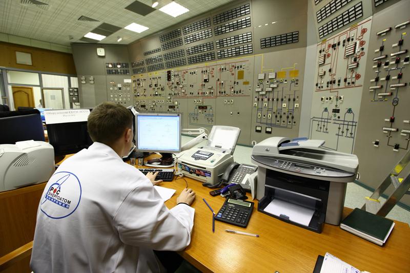 Центр управления Калининской атомной электростанции