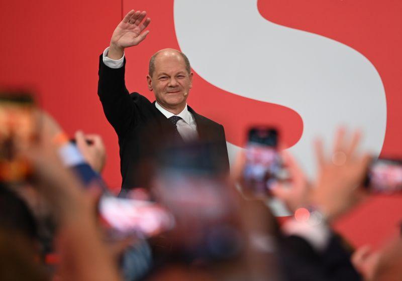 Лидер СДПГ Олаф Шольц
