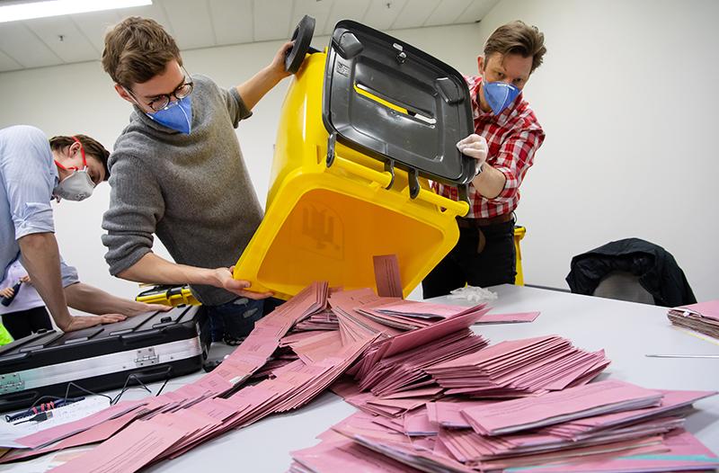 Голосование в Германии