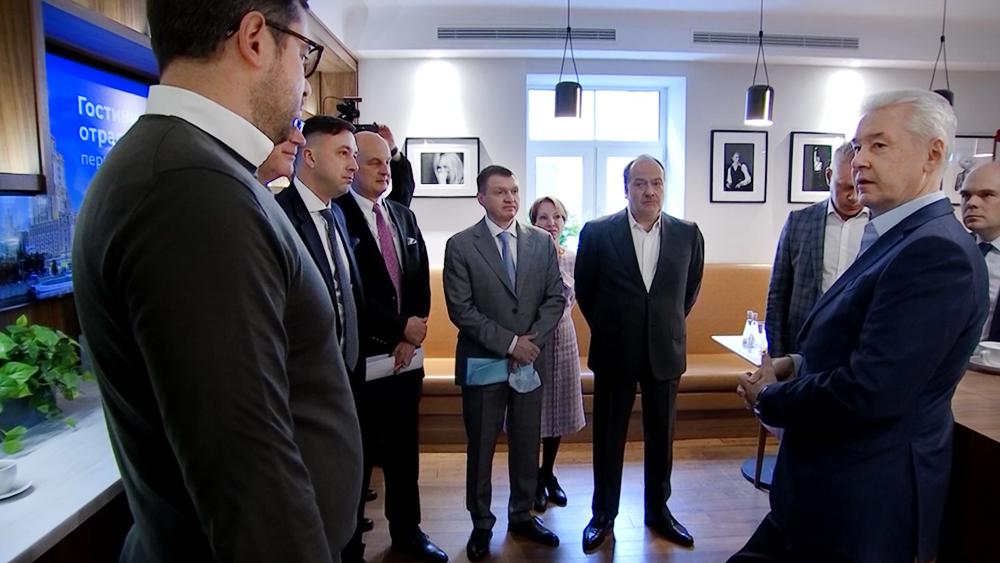 Сергей Собянин встретился с представитилями гостиничного бизнеса