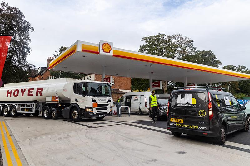Дефицит бензина в Великобритании