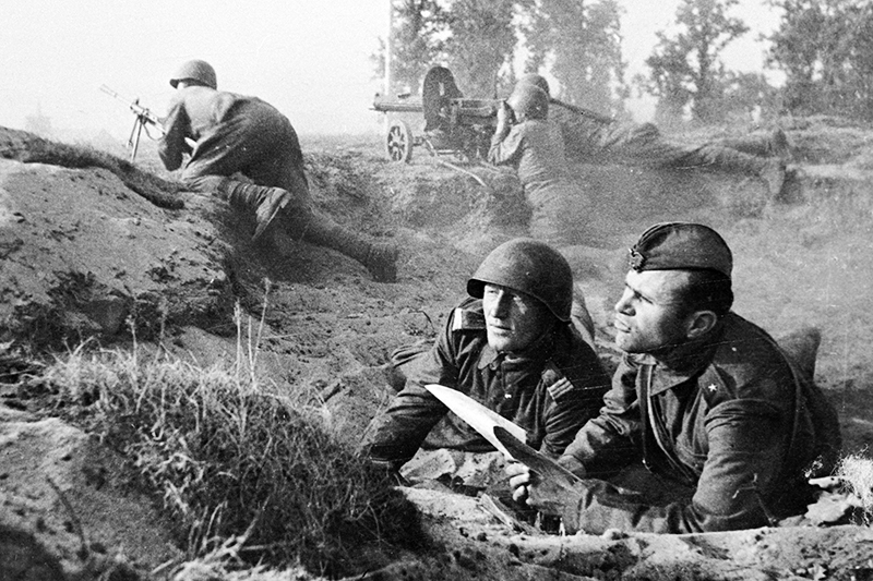 Архивные кадры Второй мировой войны