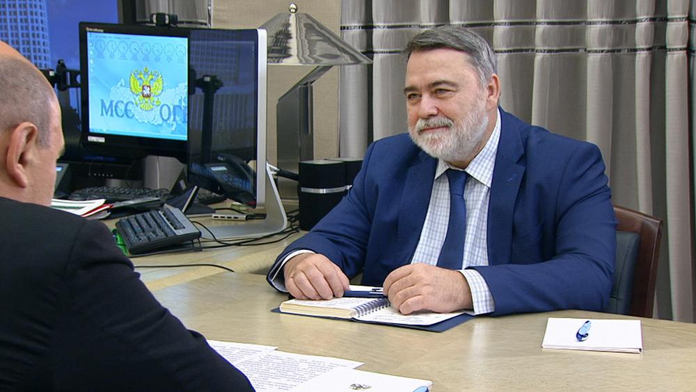 Михаил Мишустин и Игорь Артемьев
