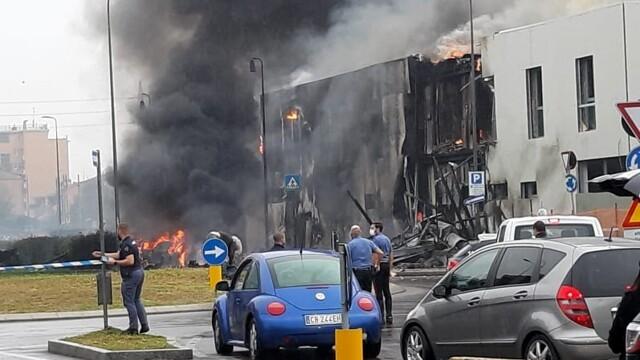 Авиакатастрофа в Милане