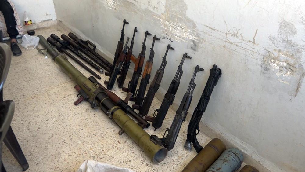 Сдача оружия в Сирии