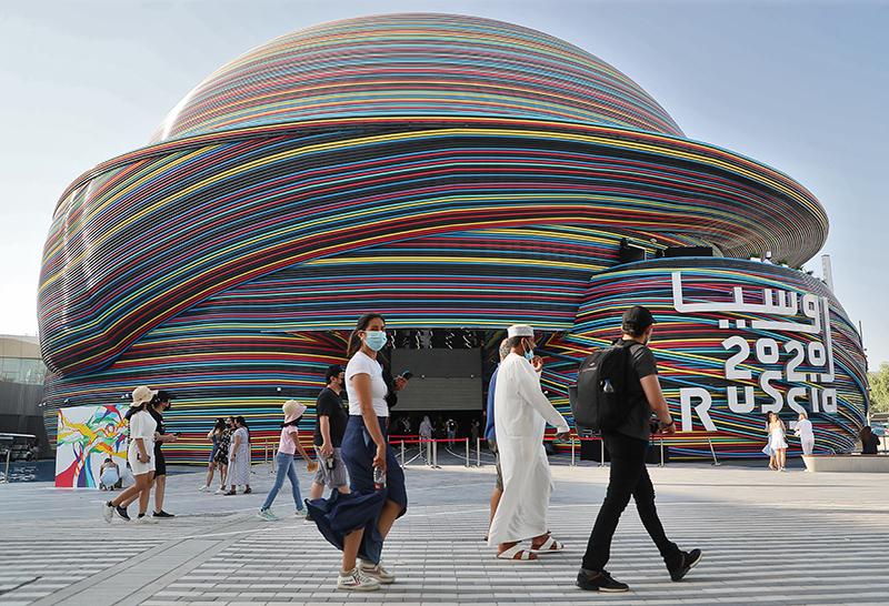 """Российский павильон на """"Экспо-2020"""" в Дубае"""