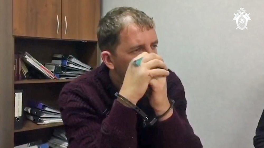 Подозреваемый в убийстве девушек под Оренбургом Александр Лазарев