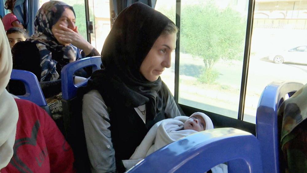 Сирийцы возвращаются домой