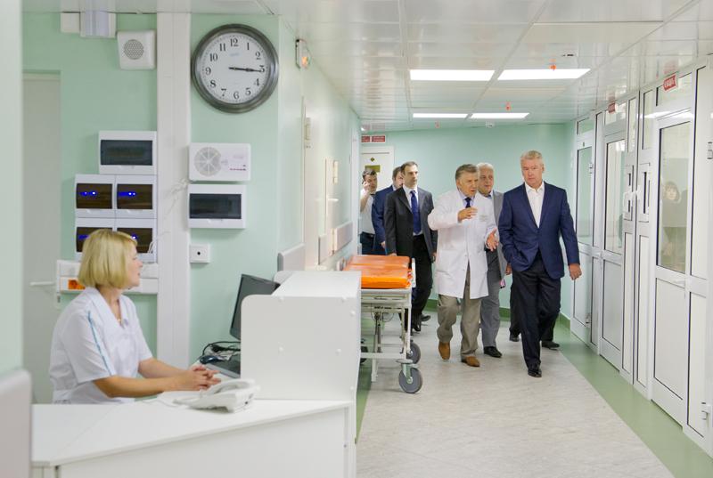 Сергей Собянин посетил детскую больницу