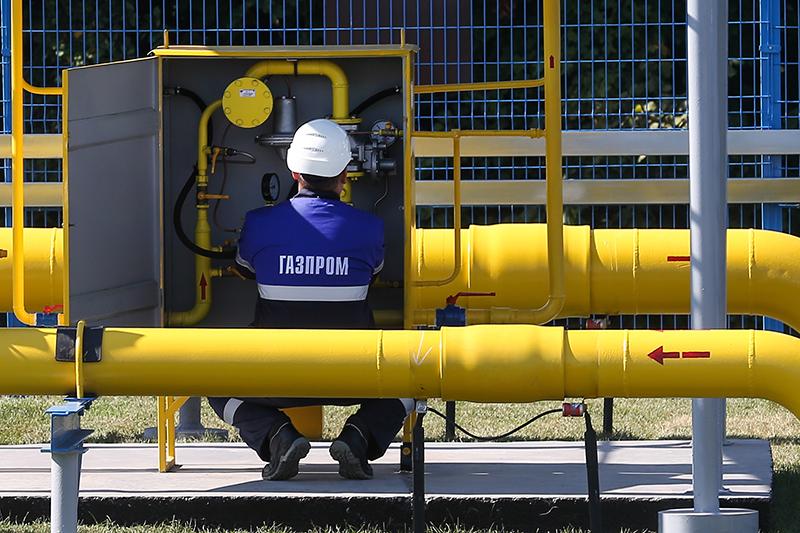 """Газоперегонный узел """"Газпром"""""""