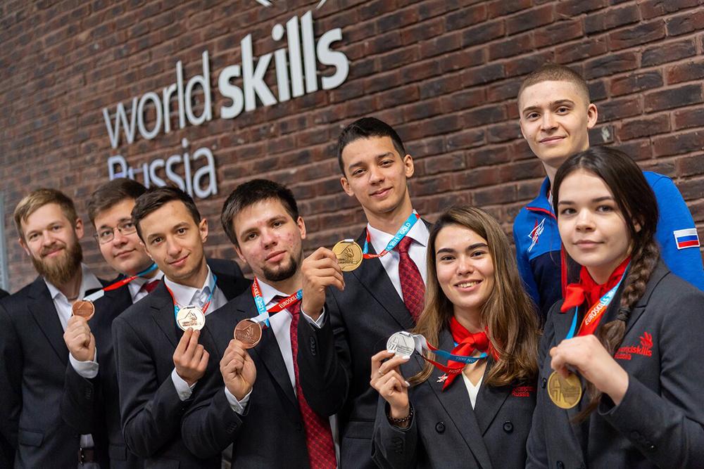 Победители чемпионата WorldSkills
