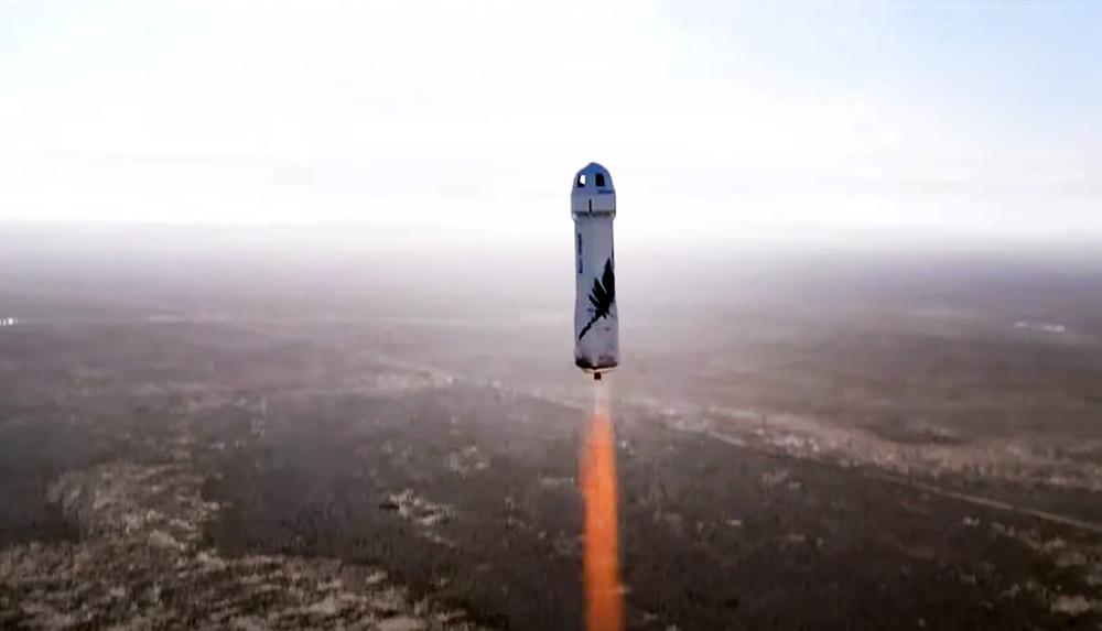 Космический корабль New Shepard компании Blue Origin