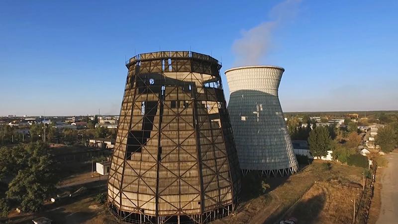 ТЭЦ на Украине