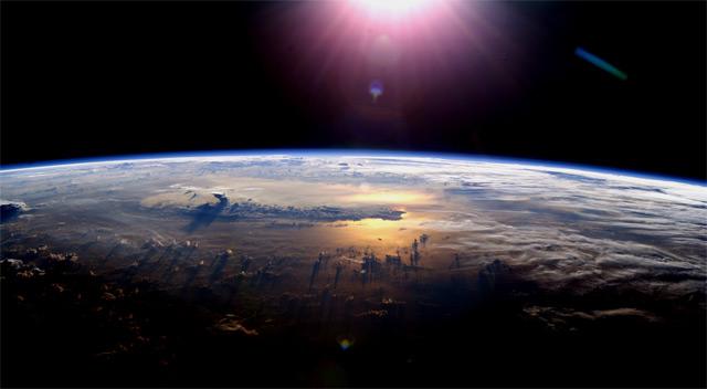 Земля, вид из космоса