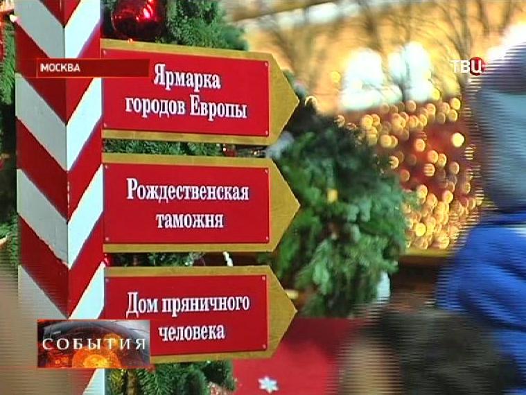 Указатель московских ярмарок