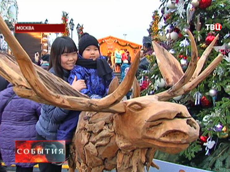 Рождественская ярмарка в Москве