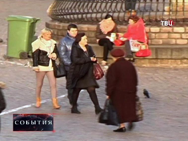 Жители Москвы