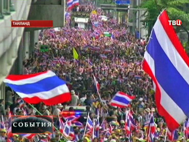 В Бангкоке оппозиция блокировала центр города