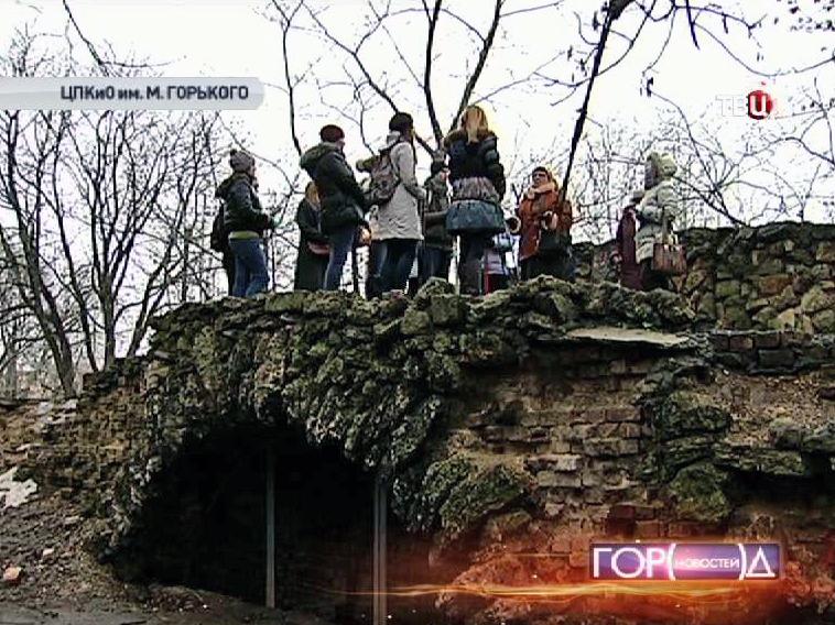Каменный мост в Нескучном саду