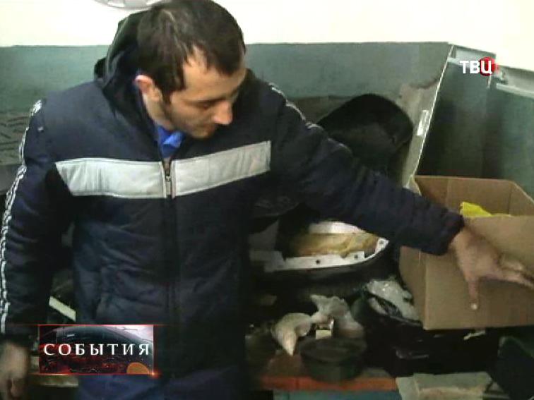 Следственные действия с задержанным организатором взрыва в Пятигорске