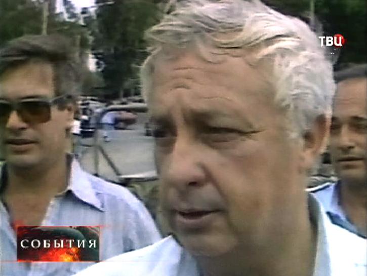 Старые кадры интервью с Ариэлем Шароном