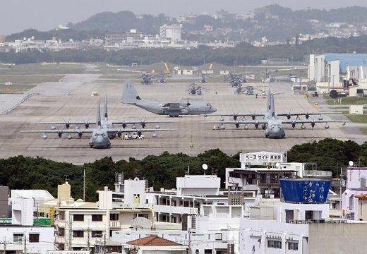 Военная база на Окинаве
