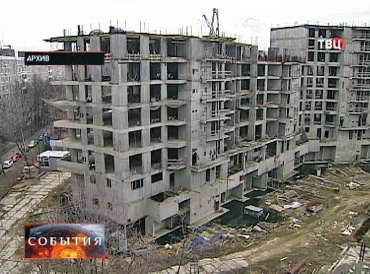 Незавершенное строительство здания