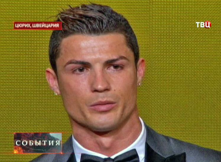 Криштиану Роналдо лучший футболист 2013 года