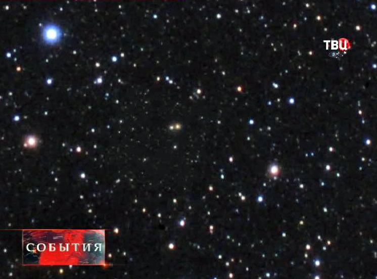Частицы кометы ISON